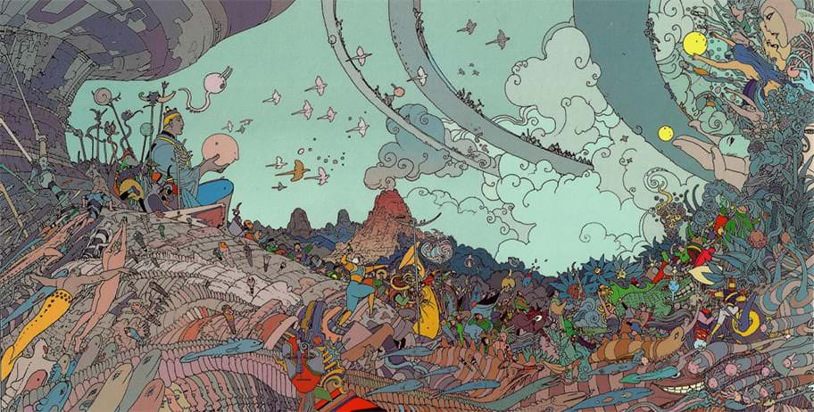 Artwork by Moebius. One of my favorite artists.
